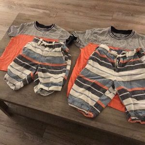 Gymboree boys short outfits size 3/4 and 7/8